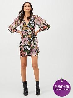 v-by-very-wrap-georgette-dress-print