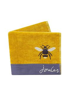 joules-botanical-bee-bath-sheet