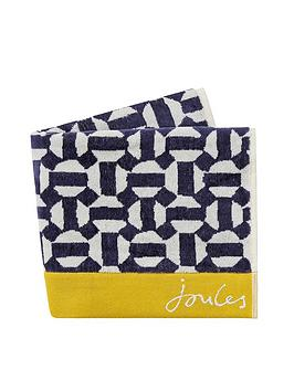 Joules Joules Honeycomb Geo Bath Towel Picture