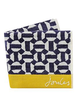 Joules Joules Honeycomb Geo Bath Sheet Picture