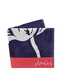 joules-shadow-floral-cotton-bath-sheet