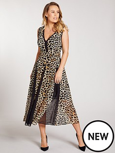 kate-wright-panelled-print-midi-dress-animal-print