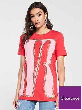 river-island-river-island-studded-oversized-t-shirt-red