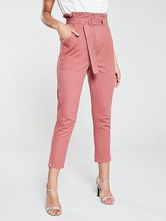 river-island-paperbag-waist-jean-pink