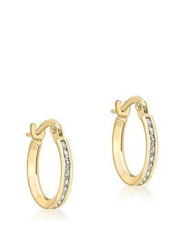 love-gold-9ct-gold-cubic-zirconia-20mm-hoop-earrings