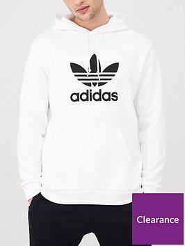 adidas-originals-trefoil-overhead-hoodie-white