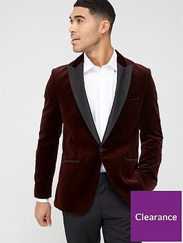 hugo-harvey-velvet-tuxedo-jacket-claret