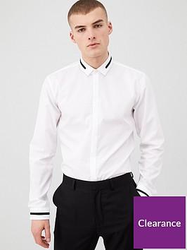 hugo-eloy-slim-fit-long-sleeved-shirt-white