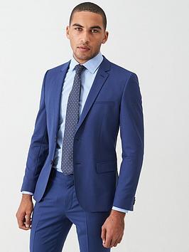 HUGO Hugo Arti Stretch Slim Fit Suit Jacket - Open Blue Picture