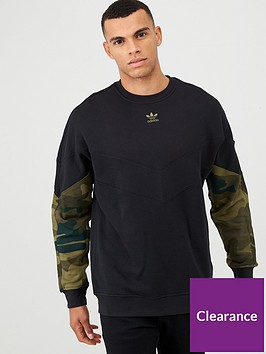 adidas-originals-camo-crew-neck-sweat-black