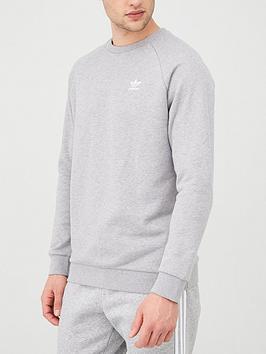 adidas Originals Adidas Originals Essential Crew Neck Sweatshirt - Medium  ... Picture