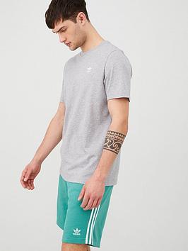 adidas Originals Adidas Originals Essential T-Shirt - Medium Grey Heather Picture
