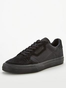 adidas Originals  Adidas Originals Continental Vulc Canvas - Black