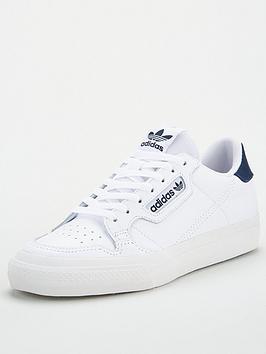 adidas Originals Adidas Originals Continental Vulc Leather - White Picture