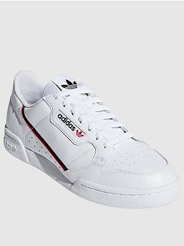adidas Originals Adidas Originals Continental 80 - White/Red Navy Picture