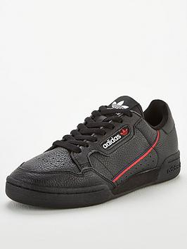 adidas Originals Adidas Originals Continental 80 - Black/Red/Blue Picture