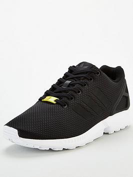 adidas Originals Adidas Originals Zx Flux - Black/White Picture