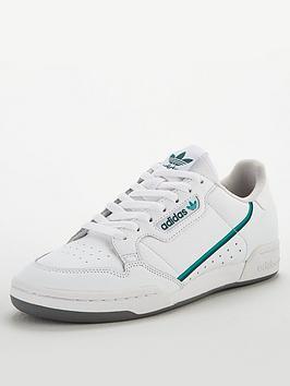 adidas Originals Adidas Originals Continental 80 - White/Navy/Green Picture
