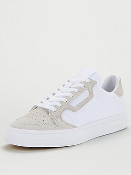 adidas Originals  Adidas Originals Continental Vulc Canvas - White