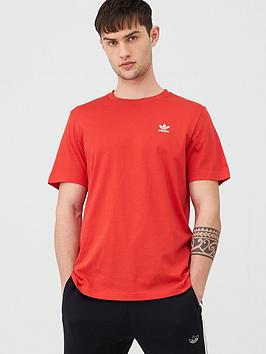 adidas Originals Adidas Originals Essential T-Shirt - Red Picture