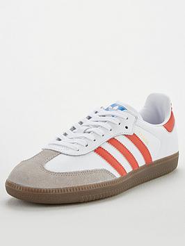 adidas Originals Adidas Originals Samba Og - White/Red Picture