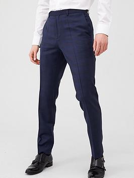 hugo-hets-check-slim-fit-suit-trousers-dark-blue