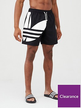 adidas-originals-big-trefoil-swim-shorts-black