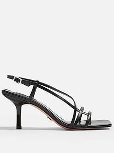 topshop-strippy-heeled-sandals-black