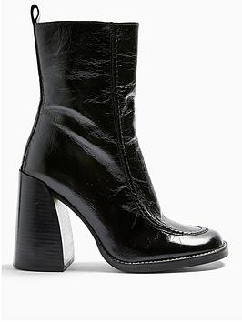 topshop-topshop-harvey-chunky-heel-leather-calf-boots-black