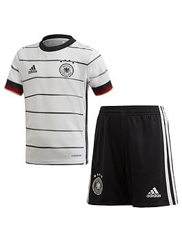 Adidas   Infant Home Germany 2020 Euro Mini Replica Kit - White/Black