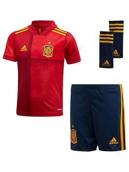 Adidas   Infant Home Spain Euro 2020 Mini Replica Kit - Red
