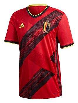 Adidas   Home Belgium Euro 2020 Replica Shirt - Red