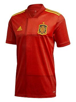Adidas   Home Spain 2020 Euro Replica Shirt - Red