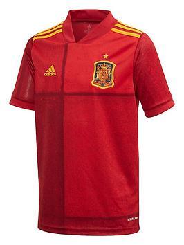Adidas Adidas Junior Home Spain Euro 2020 Replica Shirt - Red Picture