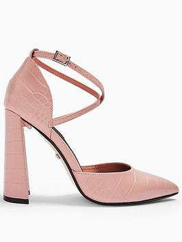 topshop-grape-flare-heel-courts-pink