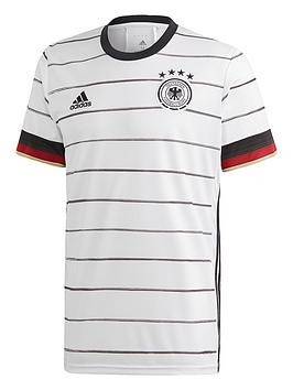 Adidas   Junior Home Germany Euro 2020 Replica Shirt - White/Black