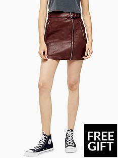 topshop-topshop-hardware-detail-pu-mini-skirt-burgundy