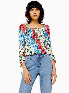 topshop-topshop-floral-prairie-blouse-multi