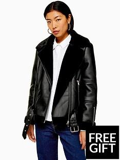 topshop-aviator-biker-jacket-black