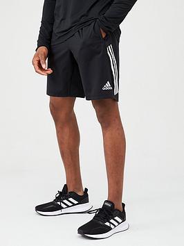 Adidas Adidas Training 3 Stripe+ Short - Black Picture