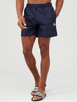 Adidas Adidas Solid Swim Shorts - Ink Picture