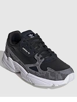 adidas Originals Adidas Originals Falcon W - Black/White Picture