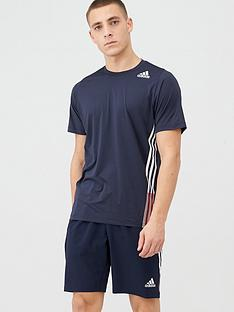 adidas-training-3-stripe-t-shirt