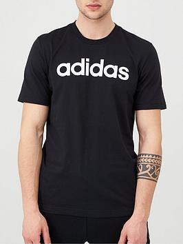 adidas-linear-t-shirt-blacknbsp
