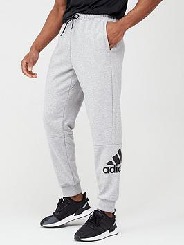 Adidas   Bos Track Pants - Medium Grey Heather