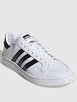 adidas Originals Adidas Originals Team Court - White/Black Picture