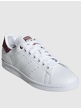 adidas Originals Adidas Originals Stan Smith - White/Red Picture
