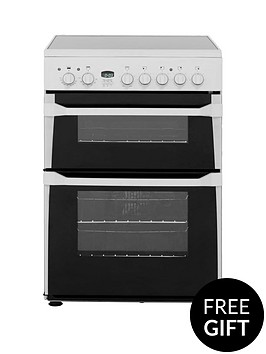 indesit-id60c2ws-60cm-ceramic-hob-double-oven-electric-cooker-white