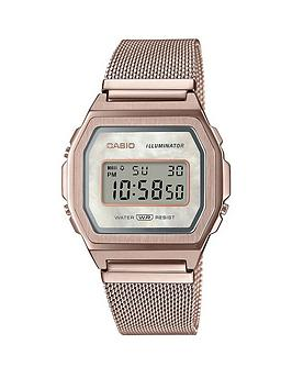 casio-casio-retro-blush-mother-of-pearl-digital-dial-carnation-gold-stainless-steel-mesh-strap-watch