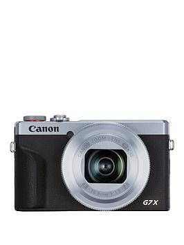 Canon    Powershot G7X Mkiii Camera - Silver